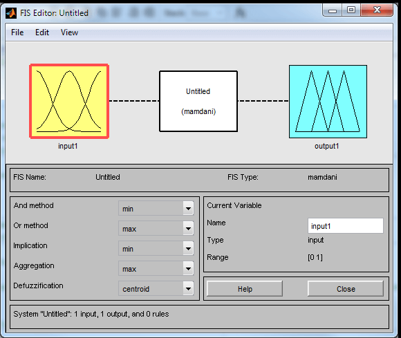Matlab Fuzzy Logics toolbox