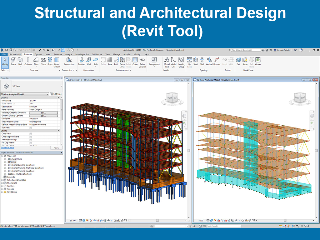 Structural and Architectural Design (Revit Tool) - monkfox