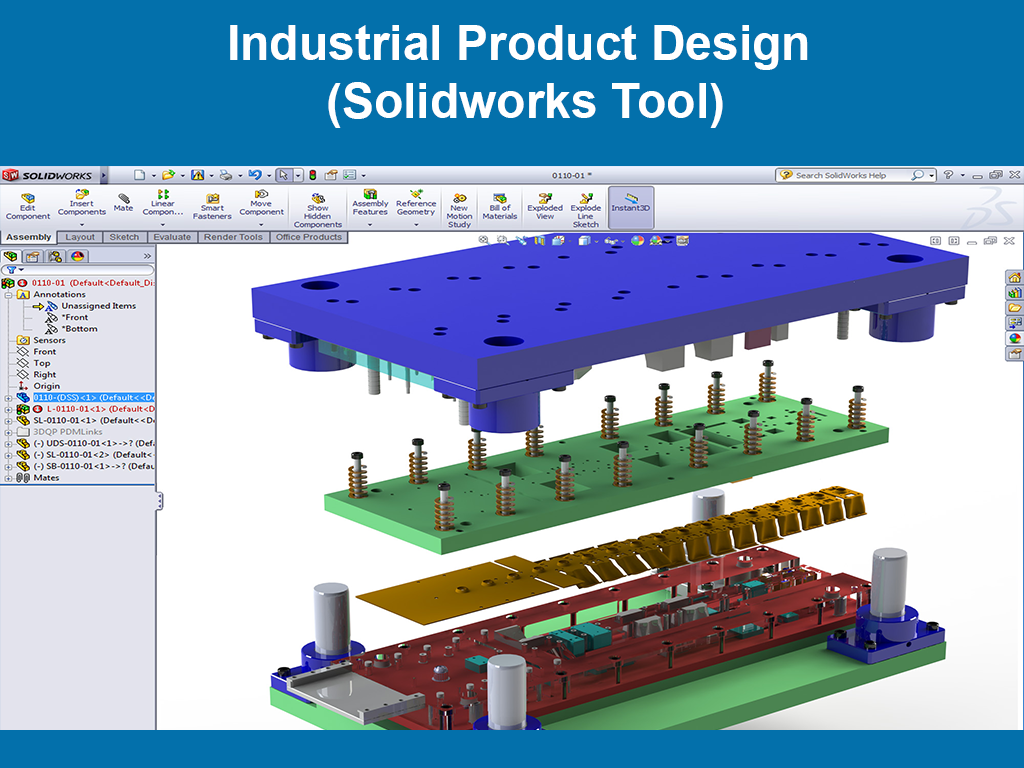 Industrial Product Design ( Solidworks Tool )